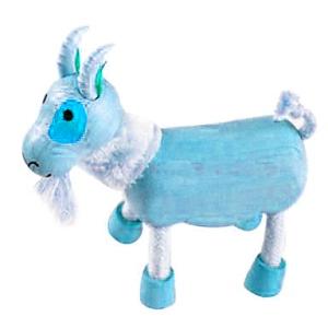 2015 год деревянной бирюзовой козы