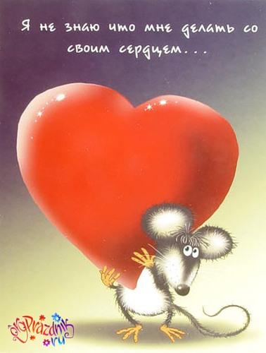Открытка, открытки, день влюбленных, 14 февраля, день святого